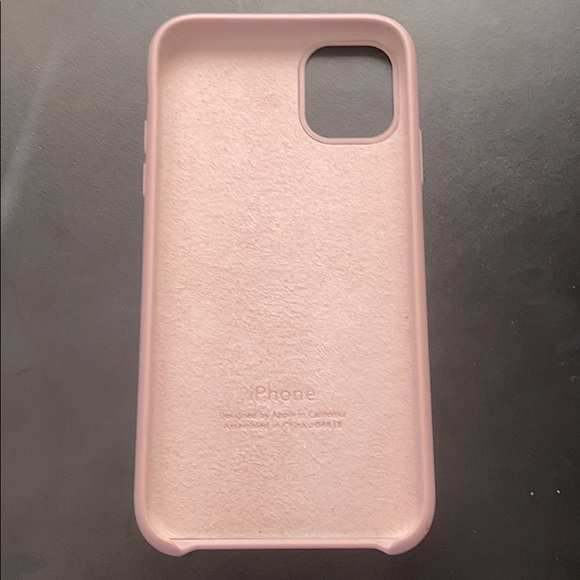 Apple silicone cover for iPhone 11